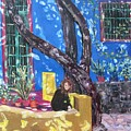 Kahlo Blue - Sold by Judith Espinoza