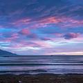 Kaikoura New Zealand Dawn by Joan Carroll