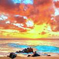 Kailua-kona Sunset by Dominic Piperata