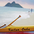 Kailua Paddleing by Ty Helbach