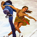 Kaitlyn Weaver And Andrew Poje by Don Kuing