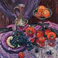 Kaki And Grapes by Sergey Sovkov