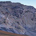 Kalahaku Pali And The Haleakala Crater by Rich Reid