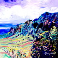 Kalalau Valley 4 by Marionette Taboniar