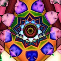Kaleidoscope 120 by Ron Bissett