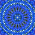 Kaleidoscope Iris Three by Suzanne Handel