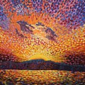 Kaleidoscope Sunrise by Caroline Street