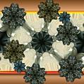 Kaleidoscopeflowers by Ron Bissett