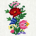 Kalocsa Flowers Embroidery by Marianna Mills