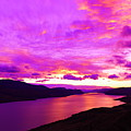 Kamloops Lake At Dawn by Jeff Swan
