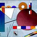 Kandinsky II by Peter Leech