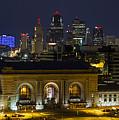 Night At Union Station by Carolyn Fox