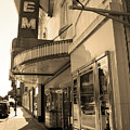 Kansas City - Gem Theater Sepia 2 by Frank Romeo