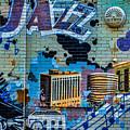 Kansas City Jazz Mural by Steven Bateson