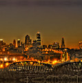 Kansas City Missouri At Dusk by Don Wolf
