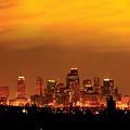 Kansas City Missouri Skyline by Don Wolf