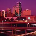 Kansas City Skyline 1991 by Gary Gingrich Galleries