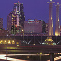 Kansas City Skyline 1998 by Gary Gingrich Galleries