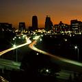 Kansas City Skyline, 1981 by Dwayne Pounds