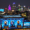 Kansas City Vibrant At Night by Richard Lincoln