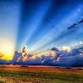Kansas Country Sunset by Tim Clark