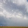 Kansas Double Rainbow by Alan Hutchins