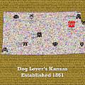 Kansas Loves Dogs by Bradley Bennett