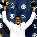 Kanye West In The Press Room For 47th by Everett