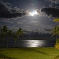 Kapa'a Moonrise by Sam Oppenheim