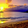Kapalua Bay Sunset by Jim Cazel