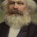 Karl Marx  by European School