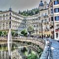 Karlovy Vary Chehia by Yury Bashkin