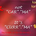 Karma - It Is Not by Ravi Kallianpur