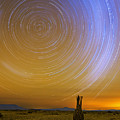 Karoo Desert Star Trails by Basie Van Zyl