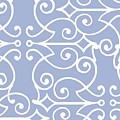 Kasbah Blue Arabesque by Mindy Sommers
