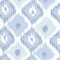 Kasbah Blue Ikat by Mindy Sommers