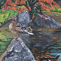 Kasugai Japanese Garden  by Sharon Duguay