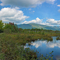 Katahdin In The Clouds by Jesse MacDonald