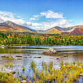 Katahdin Range Panorama 2010 by Jim Dollar