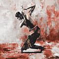 Kathak Dancer  by Gull G