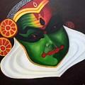 Kathakali Dancer by Pragya  Suman