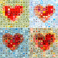 Katrina's Heart Wall - Custom Design Created For Extreme Makeover Home Edition On Abc by Boy Sees Hearts
