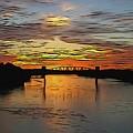Katy Bridge Watercolor Effect by Janice Poole