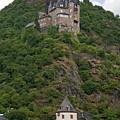 Katz Castle And Village by Sally Weigand