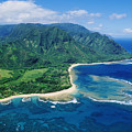 Kauai, Tunnels Beach by Greg Vaughn - Printscapes