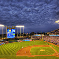 Kauffman Stadium Twilight by Shawn Everhart