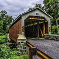 Kaufman Covered Bridge - Pa by Nick Zelinsky