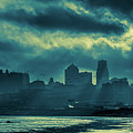 Kaw Point Kansas City Skyline by Jeff Phillippi