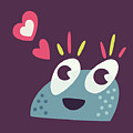 Kawaii Cute Cartoon Candy Character by Boriana Giormova