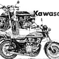 Kawasaki 900 by Ron Patterson